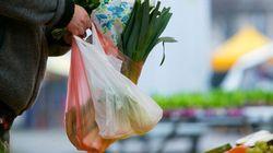 Les sacs de plastique, victimes innocentes des