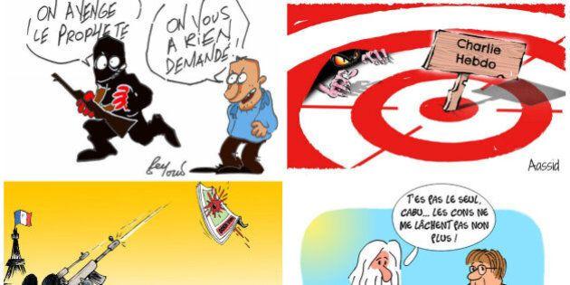 Charlie Hebdo: les dessinateurs marocains et tunisiens rendent hommage aux