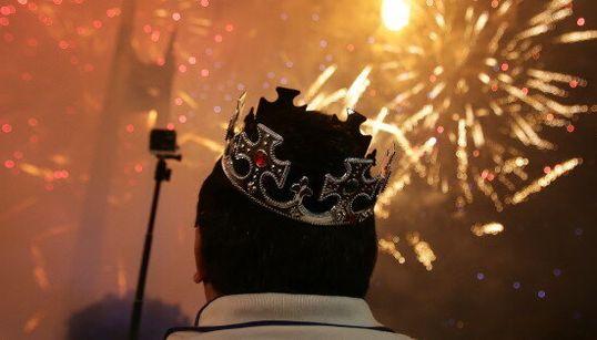 17 photos spectaculaires du Nouvel An partout dans le