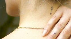 25 idées pour un tatouage minimaliste