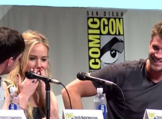 Jennifer Lawrence: plutôt bizarre en pleine promotion de «Hunger Games» au Comic-Con