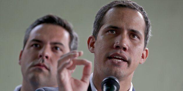 Le leader de l'opposition au Venezuela, Juan