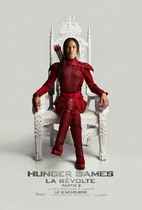 «Hunger Games - La Révolte: Partie 2»: les vedettes présentent l'affiche et une bande annonce du film