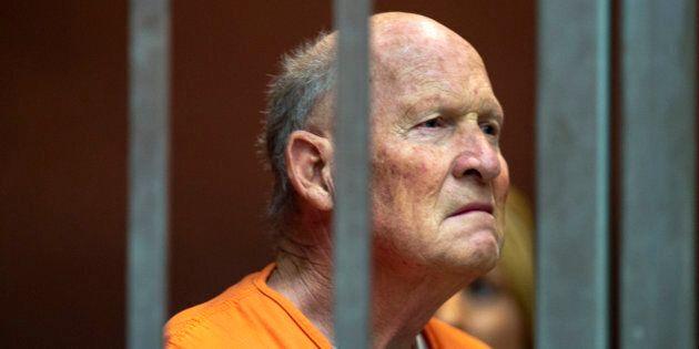 Joseph James DeAngelo, 72 ans, soupçonné d'être le «Golden State Killer», responsable d'au moins une...
