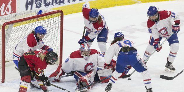 L'Inferno de Calgary a remporté la coupe Clarkson contre les Canadiennes de Montréal la semaine