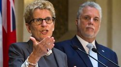 Constitution: le Québec ne figure pas sur l'écran radar, selon Wynne