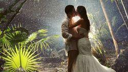 Ces couples ont affronté le danger pour leur photo de mariage