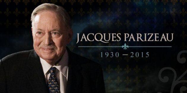 Les funérailles de Jacques Parizeau diffusées en direct à
