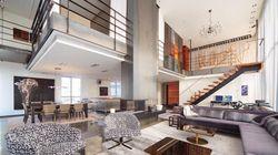 Ce penthouse du Vieux-Montréal est à louer pour 16 500 $ par mois
