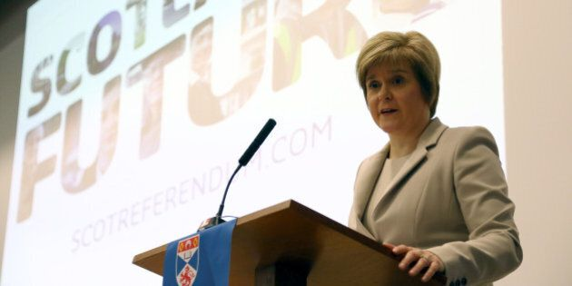 Deputy First Minister Nicola Sturgeon today marked the start of 2014, the year in which Scotland will...