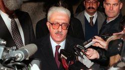 Le chef de la diplomatie de Saddam Hussein est
