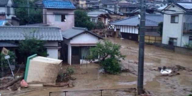 Japon: au moins 32 morts et 9 disparus dans des glissements de terrain à