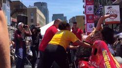 Grand Prix: coup d'éclat des Femen