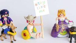#ToyLikeMe: Playmobil annonce la fabrication de jouets