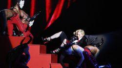Brit Awards: Madonna fait une chute spectaculaire pendant sa