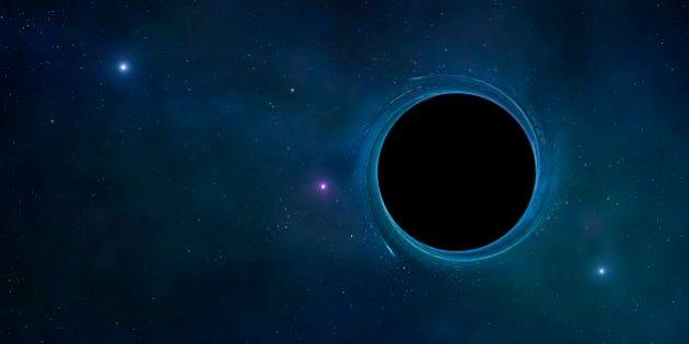 Black hole, computer