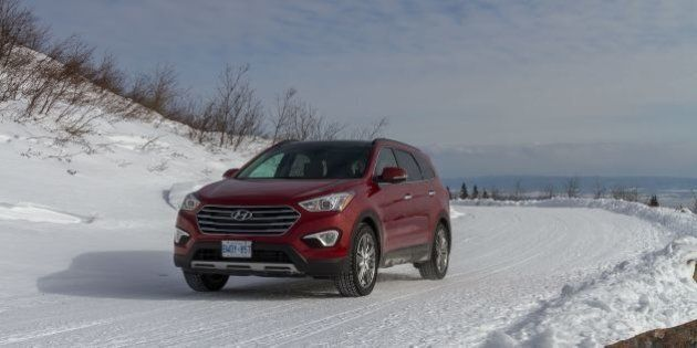 Essai hivernal des Hyundai Santa Fe XL et Genesis
