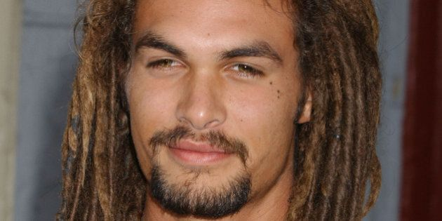 Jason Momoa at the 20th Century Fox Studios in Los Angeles, California (Photo by Gregg DeGuire/WireImage)