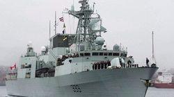 La frégate canadienne NCSM Toronto se joint à une opération de l'OTAN en
