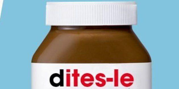 Nutella réagit à la polémique sur les mots interdits de sa campagne «Dites-le avec