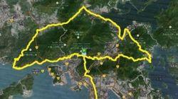 Un ultra marathon en forme de parapluie pour soutenir les manifestants de Hong