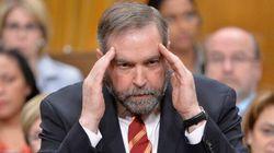 Fusillade d'Ottawa: Mulcair refuse de la qualifier de «terroriste»