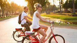 En auto, à bicyclette... ou en