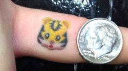 Les tatouages d'émoticônes, une nouvelle tendance