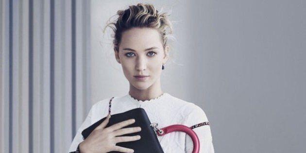 Jennifer Lawrence, sublime dans la nouvelle campagne de Dior