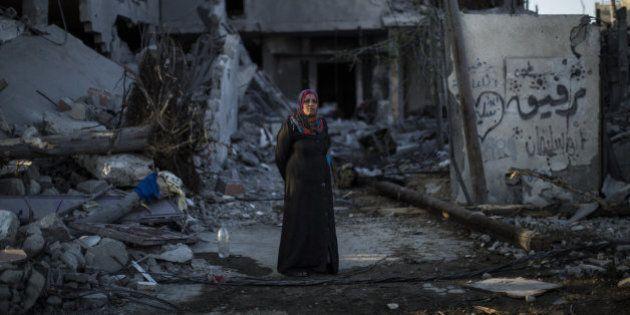 À Gaza, des milliers de Palestiniens fuient les abords de la frontière avec