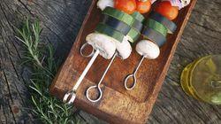 Le barbecue végétarien pour les