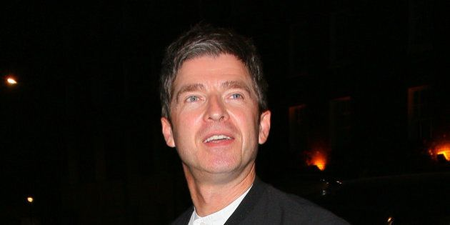 LONDON, UNITED KINGDOM - SEPTEMBER 18: Noel Gallagher at the Chiltern Firehouse on September 18, 2014...