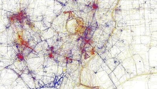 Des cartes pour comprendre la distinction entre touristes et