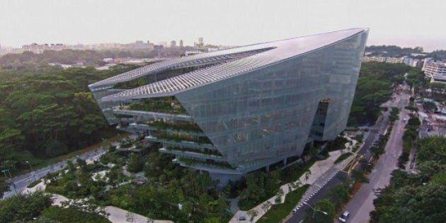 Star Wars inspire un architecte pour la construction d'un immeuble de Lucasfilm