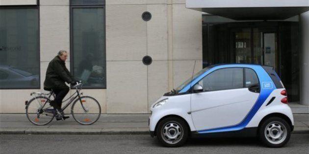 Car2Go s'étend au centre-ville en contournant le maire