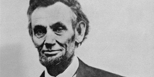 A photograph made 4 days before Lincoln's assassination.  (AP Photo)