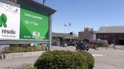 Produits forestiers Résolu : la production a pris fin à l'usine Laurentide de Shawinigan