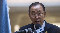 Ban Ki-moon ira à Gaza