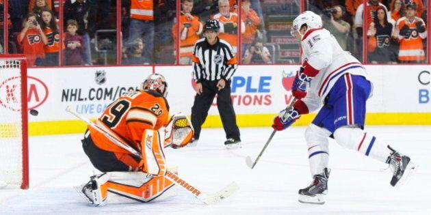 Le Canadien efface un déficit de trois buts et bat les Flyers