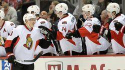 Le match prévu entre les Maple Leafs et les Sénateurs