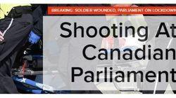 Coups de feu à Ottawa: les médias du monde en parlent