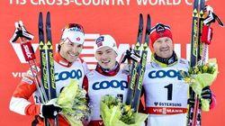 Alex Harvey gagne la médaille d'argent en sprint à Ostersund en