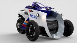 Une moto «vigilente» pour les superhéros