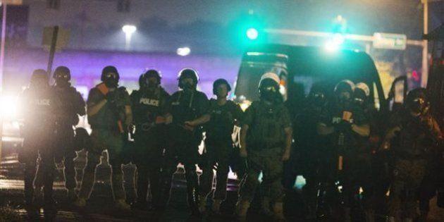 Ferguson : nouvelles confrontations entre manifestants et