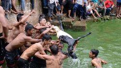 Népal: Des inondations et glissements de terrain font au moins 54