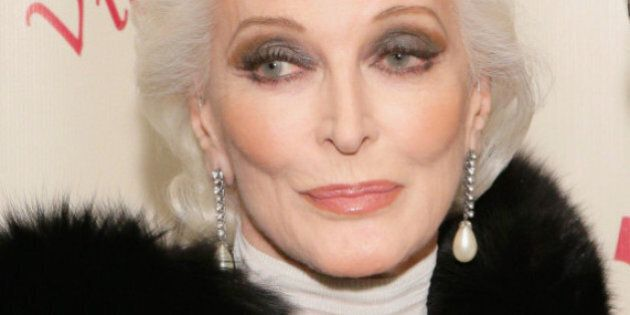 Carmen Dell'Orefice toujours au top à 83