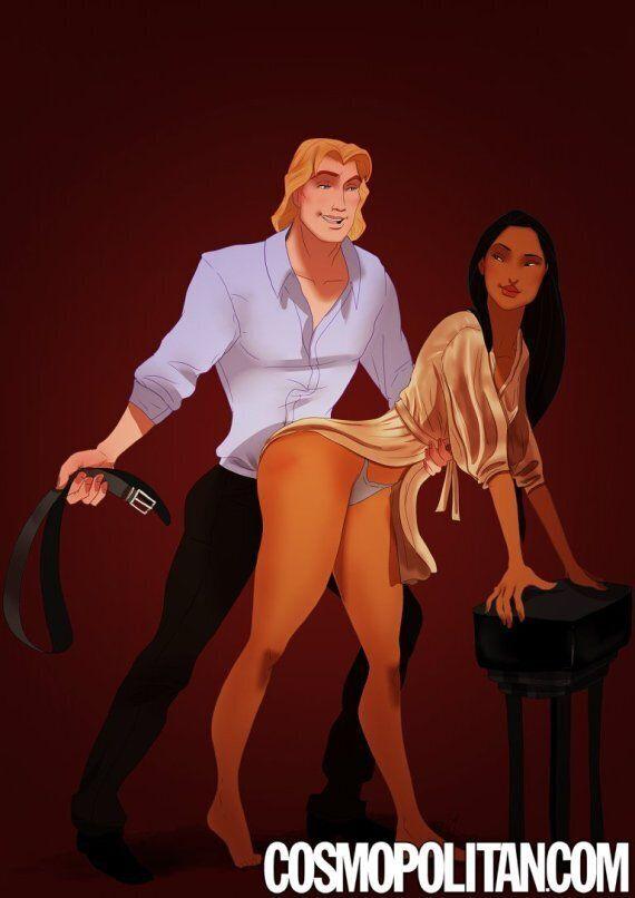Les scènes de sexe de «50 Shades of Grey» ont donné des idées aux personnages Disney
