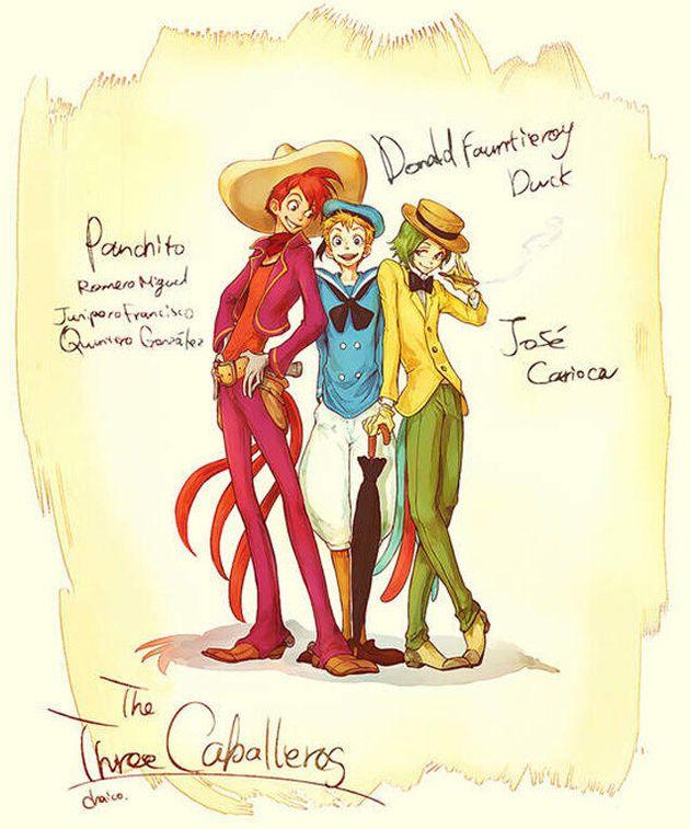 Les personnages de Disney feraient de bien jolis humains