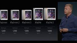 De nouveaux iPad et Apple Pay arrivent