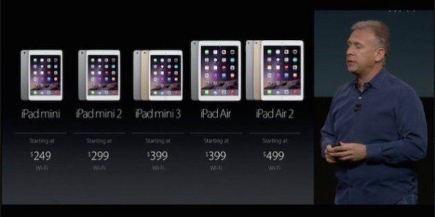 Apple dévoile de nouveaux iPad avec lecteur d'empreintes digitales et Apple Pay